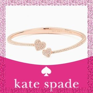 "GIFTED Kate Spade Rose Gold ""Yours Truly"" Bracelet"